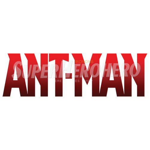 Custom Ant Man Iron on Transfers (Wall & Car Stickers) No.6480