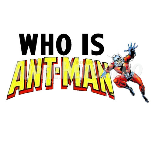 Custom Ant Man Iron on Transfers (Wall & Car Stickers) No.6487