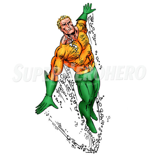 Designs Aquaman Iron on Transfers (Wall & Car Stickers) No.4874