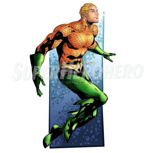 Designs Aquaman Iron on Transfers (Wall & Car Stickers) No.4876