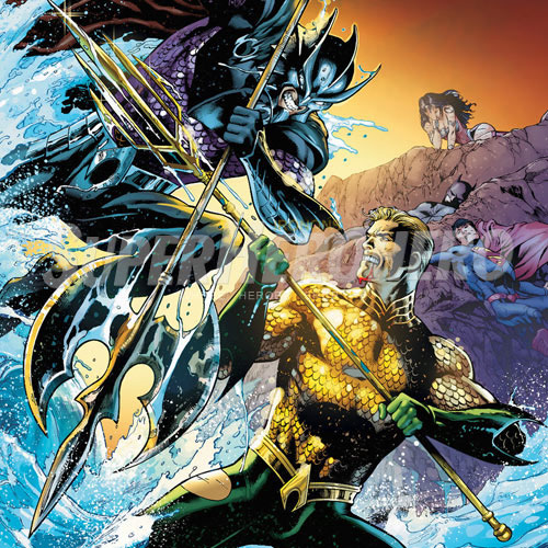 Designs Aquaman Iron on Transfers (Wall & Car Stickers) No.4877