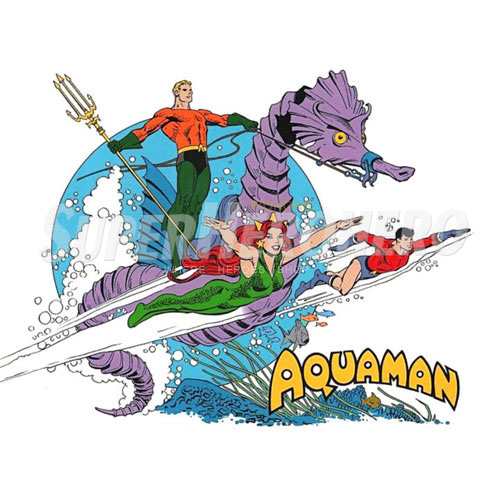 Designs Aquaman Iron on Transfers (Wall & Car Stickers) No.4878