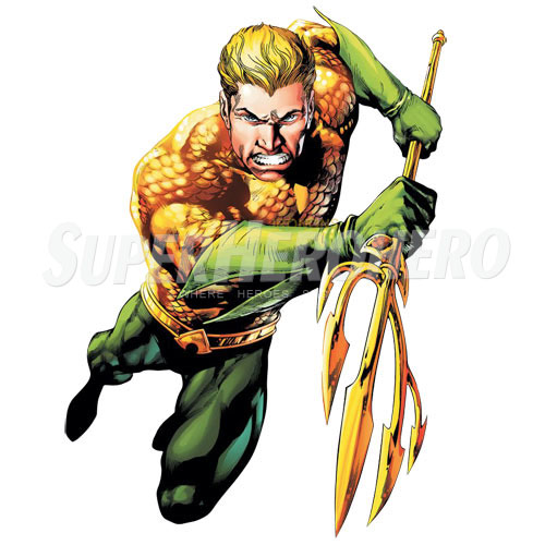 Designs Aquaman Iron on Transfers (Wall & Car Stickers) No.4886