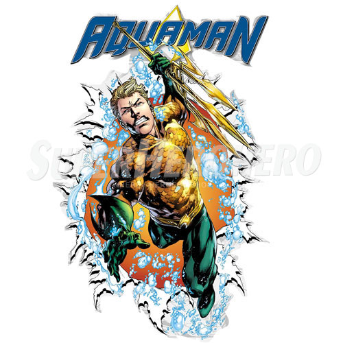 Designs Aquaman Iron on Transfers (Wall & Car Stickers) No.4888