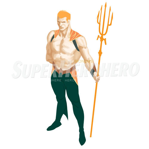 Designs Aquaman Iron on Transfers (Wall & Car Stickers) No.4889