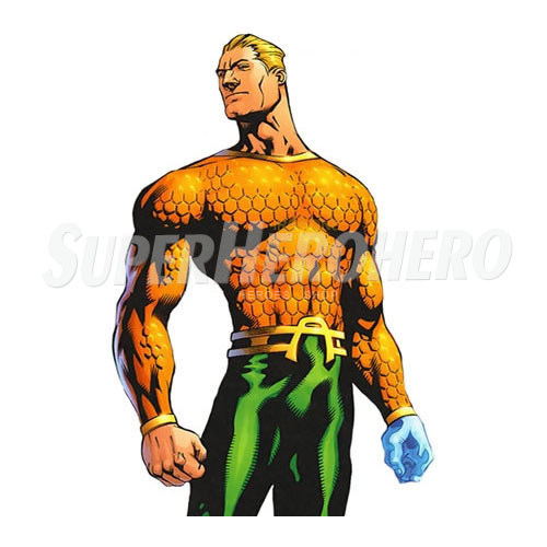 Designs Aquaman Iron on Transfers (Wall & Car Stickers) No.4891