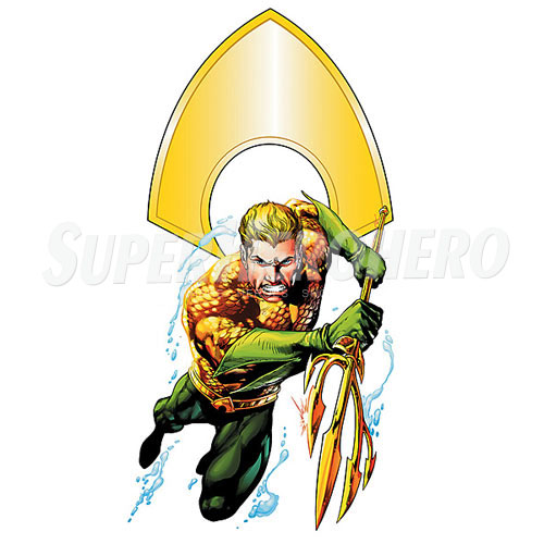 Designs Aquaman Iron on Transfers (Wall & Car Stickers) No.4892