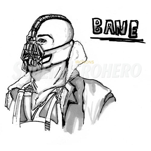 Custom Bane Iron on Transfers (Wall & Car Stickers) No.7390