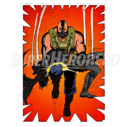 Custom Bane Iron on Transfers (Wall & Car Stickers) No.7392