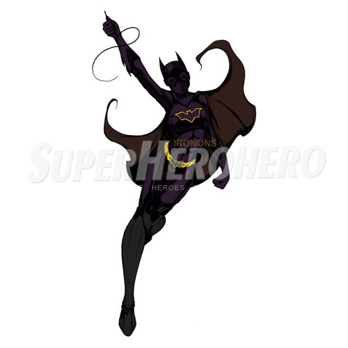Custom Batgirl Iron on Transfers (Wall & Car Stickers) No.7398