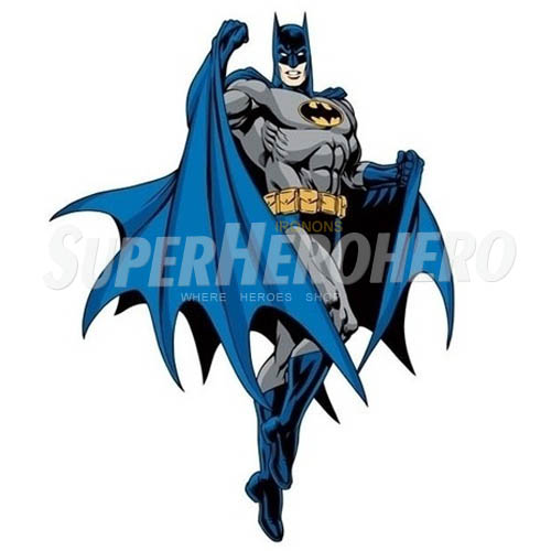 Personalized Batman Iron on Transfers (Wall & Car Stickers) No.2582