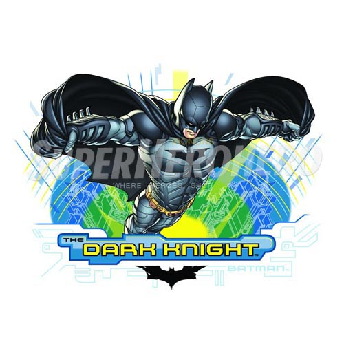 Personalized Batman Iron on Transfers (Wall & Car Stickers) No.2584
