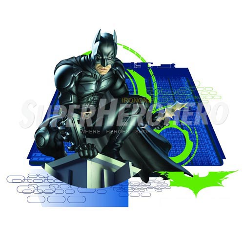 Personalized Batman Iron on Transfers (Wall & Car Stickers) No.2585