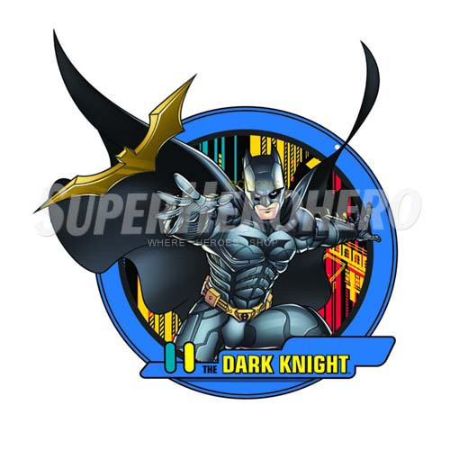 Personalized Batman Iron on Transfers (Wall & Car Stickers) No.2586