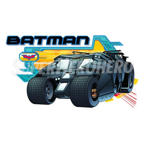 Personalized Batman Iron on Transfers (Wall & Car Stickers) No.2587