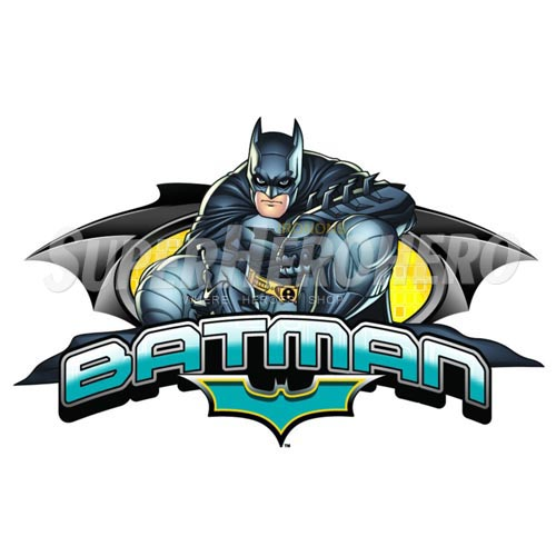 Personalized Batman Iron on Transfers (Wall & Car Stickers) No.2588