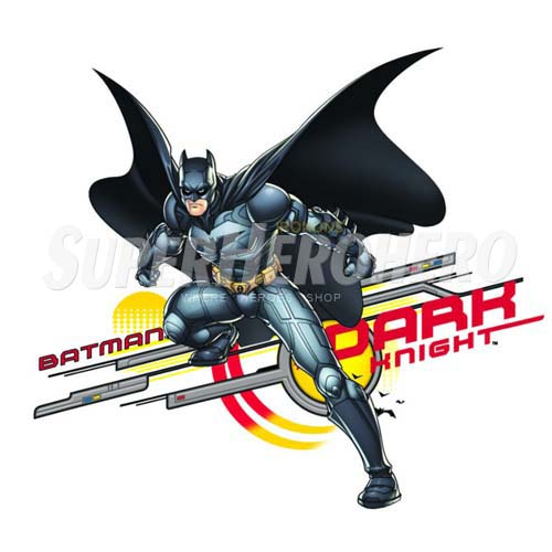 Personalized Batman Iron on Transfers (Wall & Car Stickers) No.2589