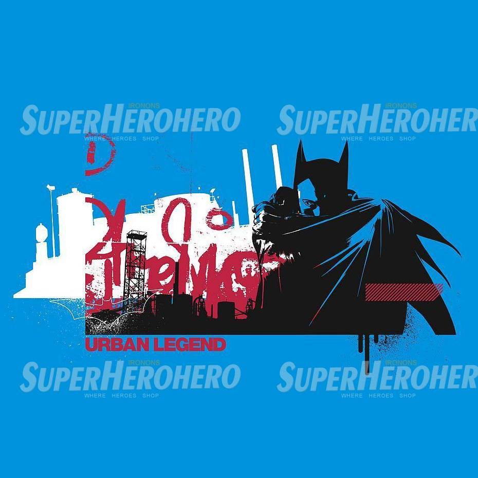 Personalized Batman Iron on Transfers (Wall & Car Stickers) No.2598