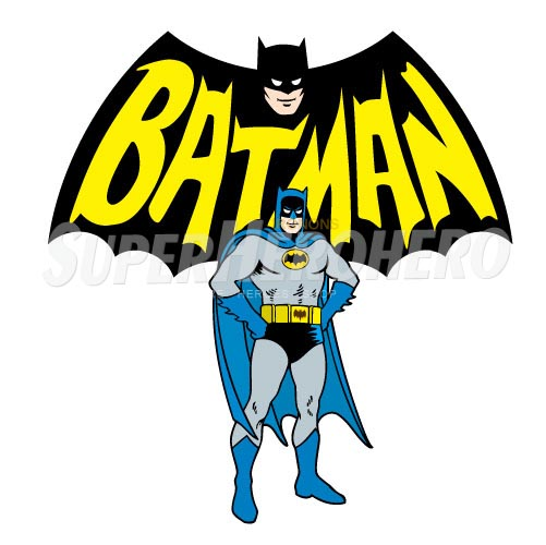 Personalized Batman Iron on Transfers (Wall & Car Stickers) No.2605