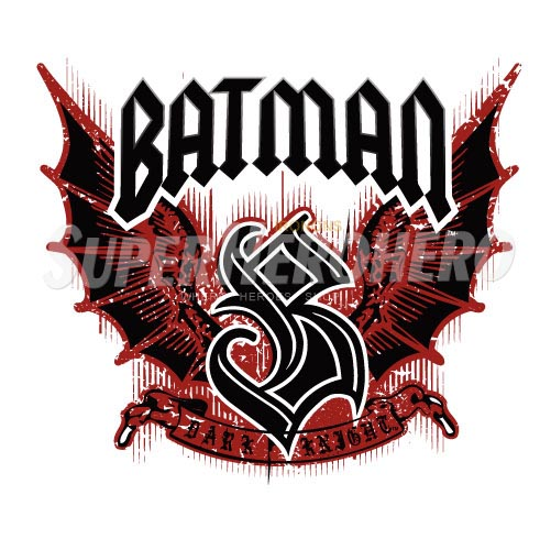 Personalized Batman Iron on Transfers (Wall & Car Stickers) No.2609