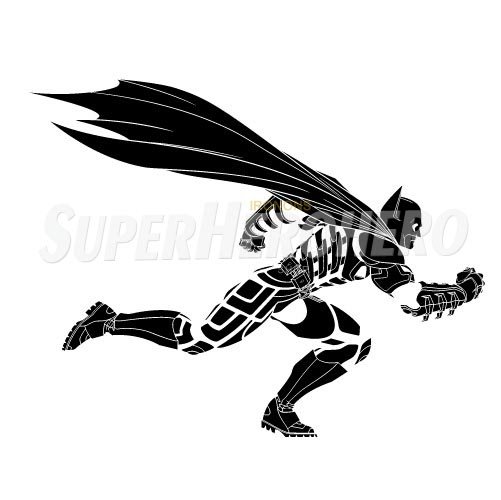 Personalized Batman Iron on Transfers (Wall & Car Stickers) No.2611
