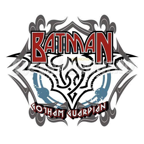 Personalized Batman Iron on Transfers (Wall & Car Stickers) No.2612
