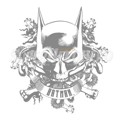 Personalized Batman Iron on Transfers (Wall & Car Stickers) No.2613
