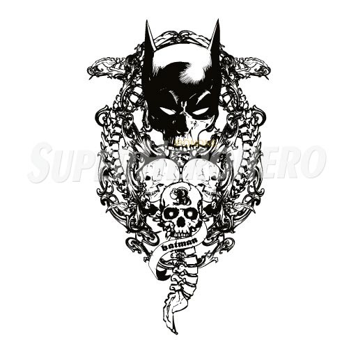 Personalized Batman Iron on Transfers (Wall & Car Stickers) No.2614