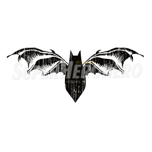 Personalized Batman Iron on Transfers (Wall & Car Stickers) No.2615