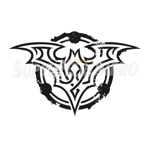 Personalized Batman Iron on Transfers (Wall & Car Stickers) No.2616