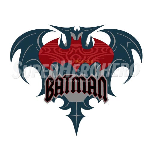 Personalized Batman Iron on Transfers (Wall & Car Stickers) No.2617