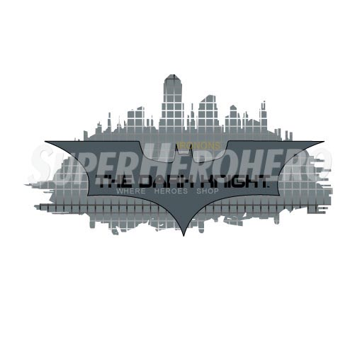 Personalized Batman Iron on Transfers (Wall & Car Stickers) No.2618