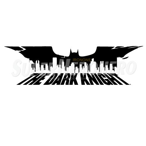Personalized Batman Iron on Transfers (Wall & Car Stickers) No.2619