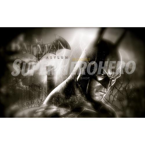 Personalized Batman Iron on Transfers (Wall & Car Stickers) No.2622