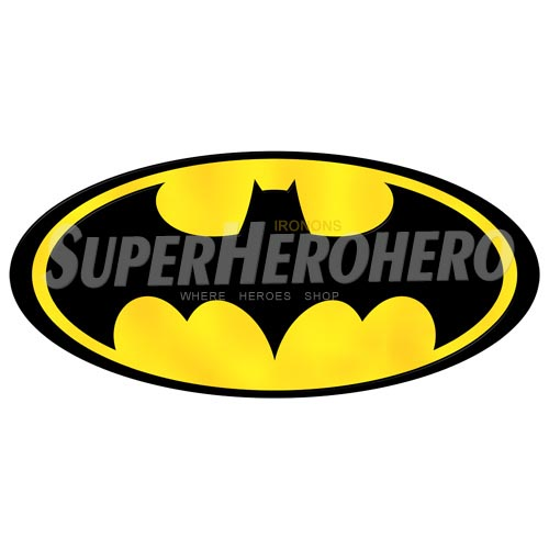 Personalized Batman Iron on Transfers (Wall & Car Stickers) No.2627