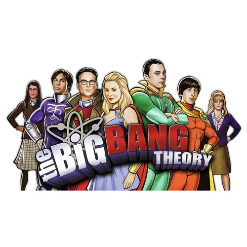 Custom Big Bang Theory Iron on Transfers (Wall & Car Stickers) No.7426