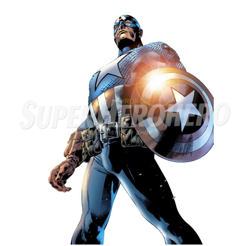 Designs Captain America Iron on Transfers (Wall & Car Stickers) No.4464