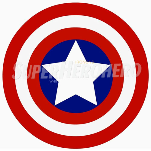 Designs Captain America Iron on Transfers (Wall & Car Stickers) No.4467