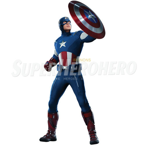 Designs Captain America Iron on Transfers (Wall & Car Stickers) No.4479