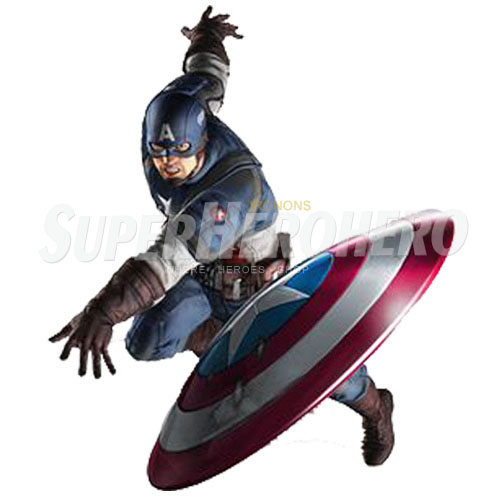 Designs Captain America Iron on Transfers (Wall & Car Stickers) No.4481