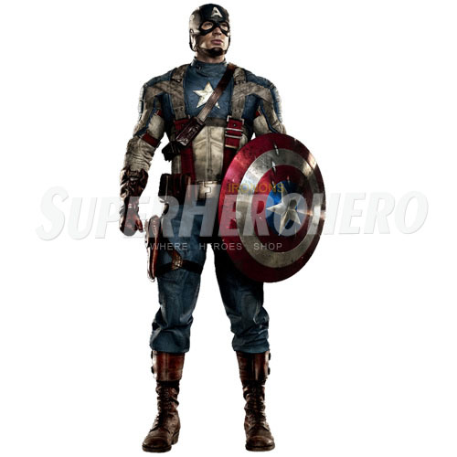 Designs Captain America Iron on Transfers (Wall & Car Stickers) No.4484