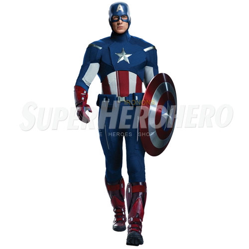 Designs Captain America Iron on Transfers (Wall & Car Stickers) No.4485