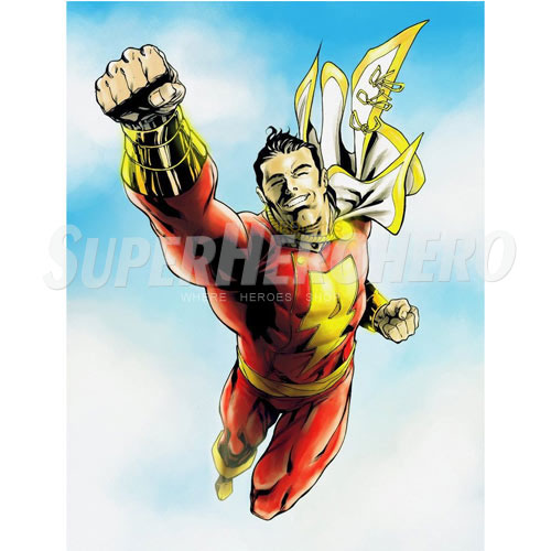 Custom Captain Marvel Iron on Transfers (Wall & Car Stickers) No.7463