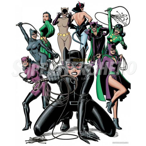 Designs Catwoman Iron on Transfers (Wall & Car Stickers) No.4894