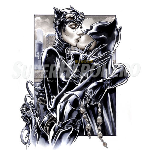 Designs Catwoman Iron on Transfers (Wall & Car Stickers) No.4895