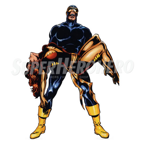 Custom Cyclops Marvel Iron on Transfers (Wall & Car Stickers) No.7586