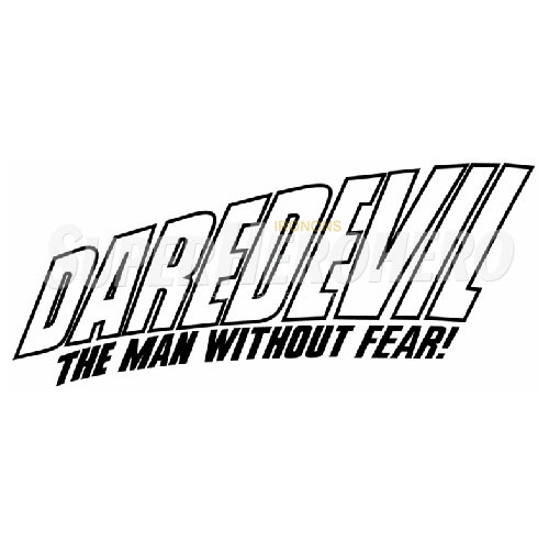 Custom Daredevil Iron on Transfers (Wall & Car Stickers) No.6813