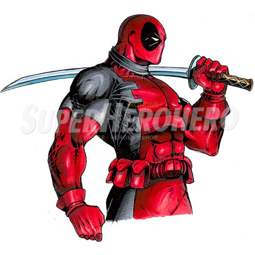 Designs Deadpool Iron on Transfers (Wall & Car Stickers) No.4936