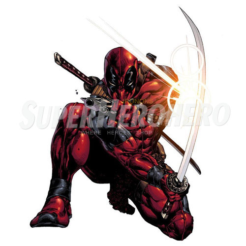 Designs Deadpool Iron on Transfers (Wall & Car Stickers) No.4941