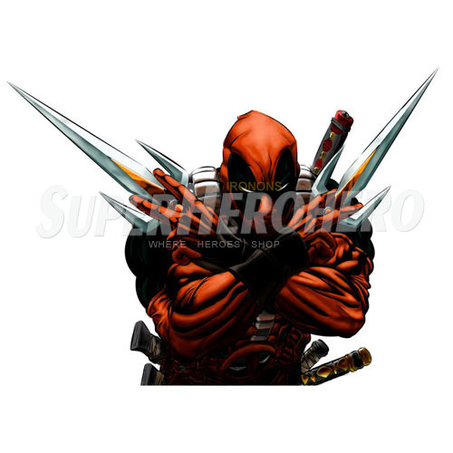 Designs Deadpool Iron on Transfers (Wall & Car Stickers) No.4946